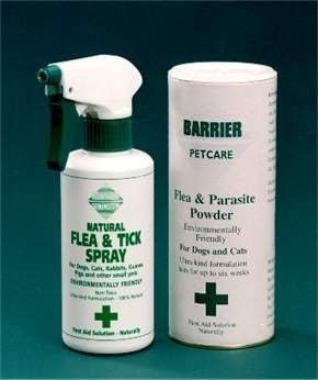 Natural Flea, Tick & Parasite Spray & Powder