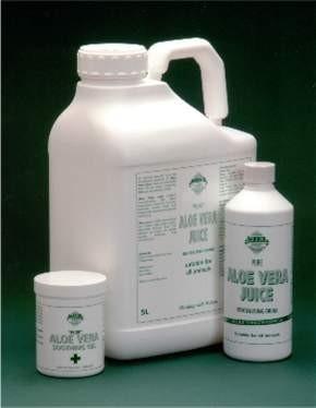 Aloe Vera Juice & Soothing Gel