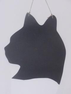 Kreidetafel Katze